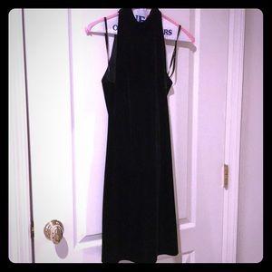 X-Small Baileys 44 velour dress